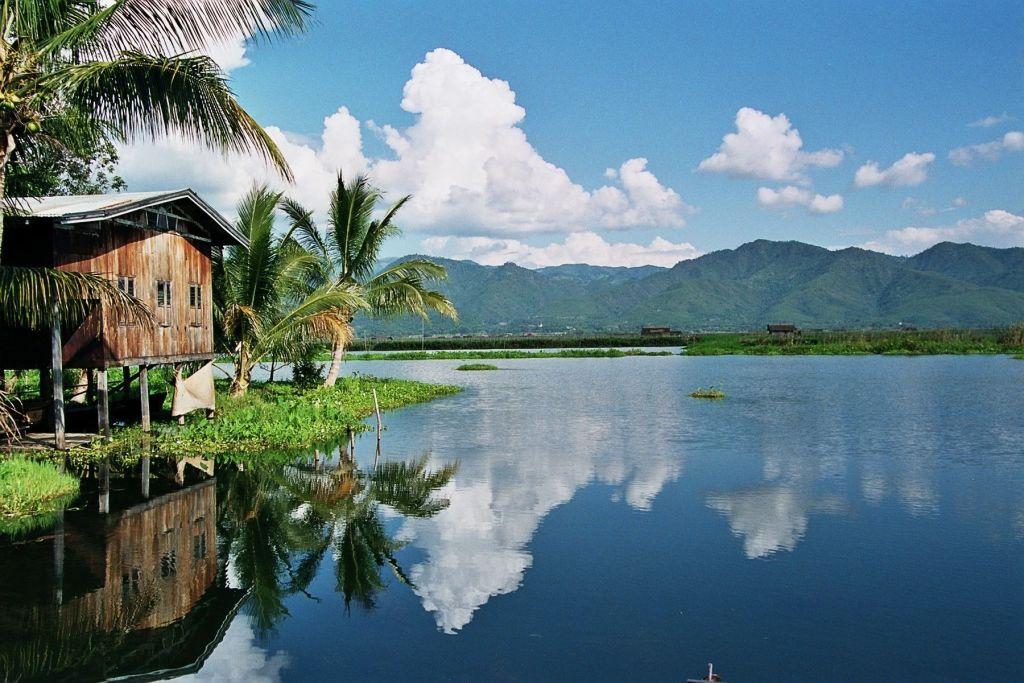 Myanmar-Inle Lake.