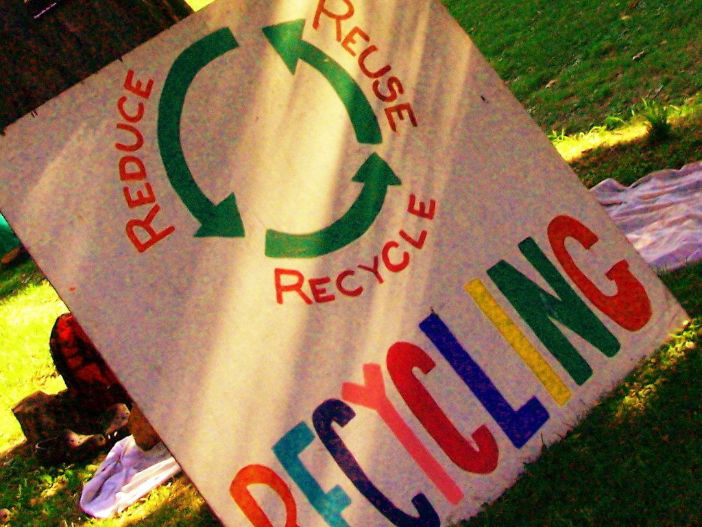 Recycle-Andy Arthur CC via Flickr