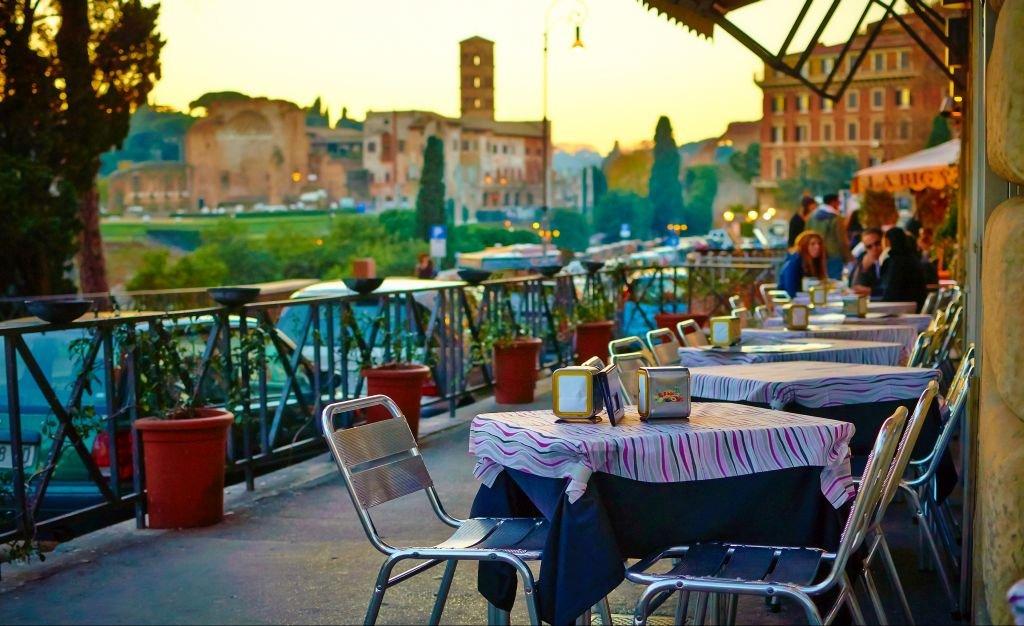 Ristorante in Rome-Photo by Moyan Brenn-CC via Flickr