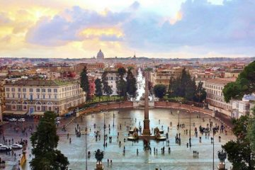 Rome-Piazza del Popolo travel destinations for history lovers