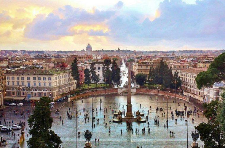 Rome-Piazza del Popolo travel destinations for history lovers