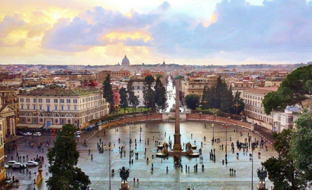 Piazza del Popolo. Photo by Moyan Brenn-CC via Flickr