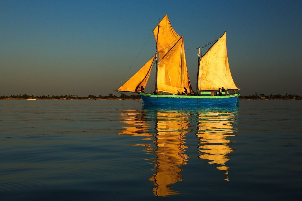 Sailing in the Mozambique Channel
