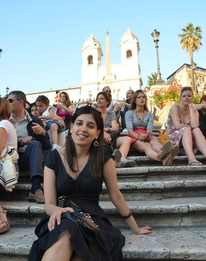 Spanish steps in Rome-Photo by Vilas Rokade