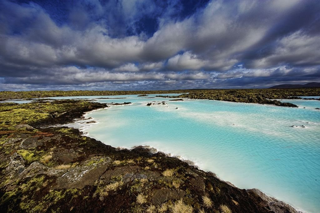 The Blue Lagoon Lake at Iceland