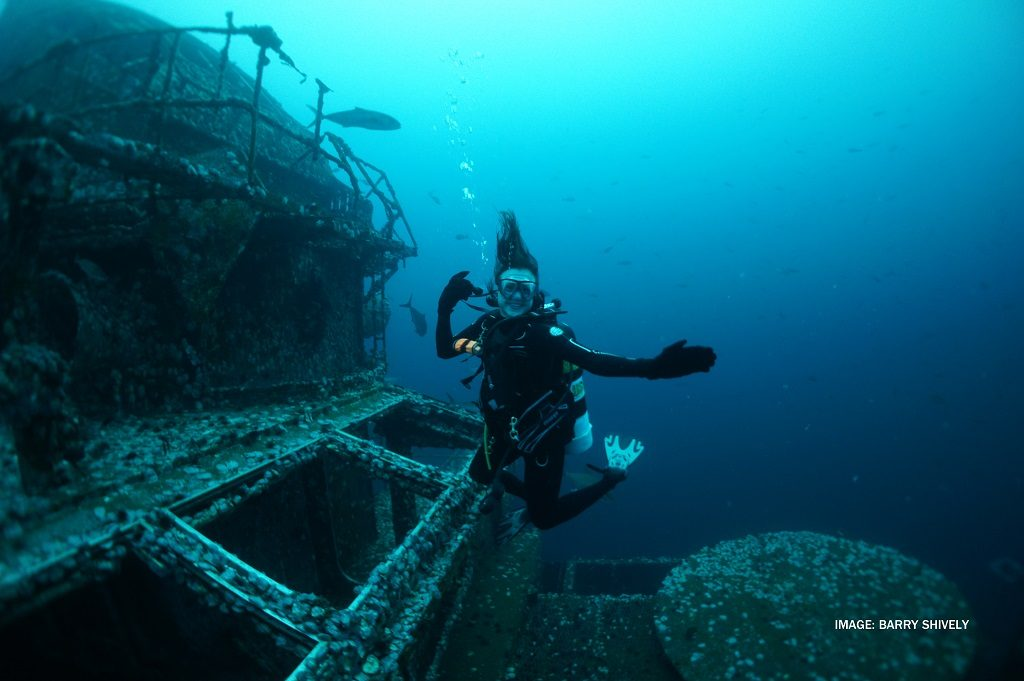 USSoriskany Photo: Barry Shively/ Florida Ppanhandle Shipwreck Trail