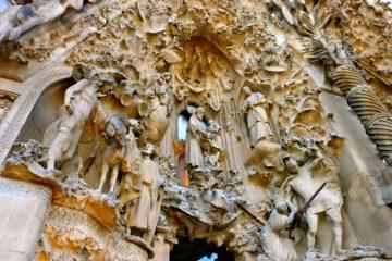 Basilica De La Sagrada Familia. Barcelona, Spain