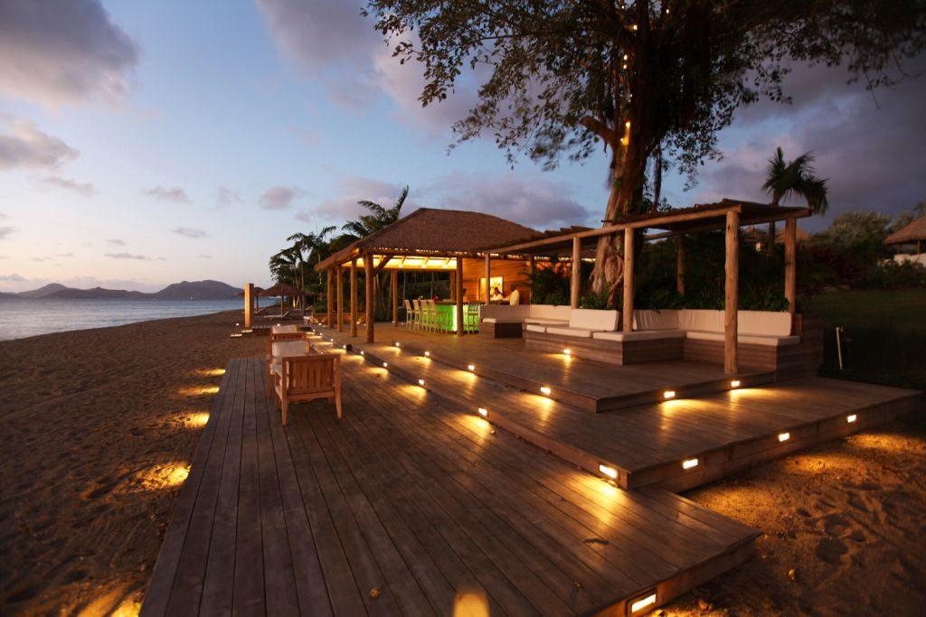 Paradise Beach Nevis beach bar