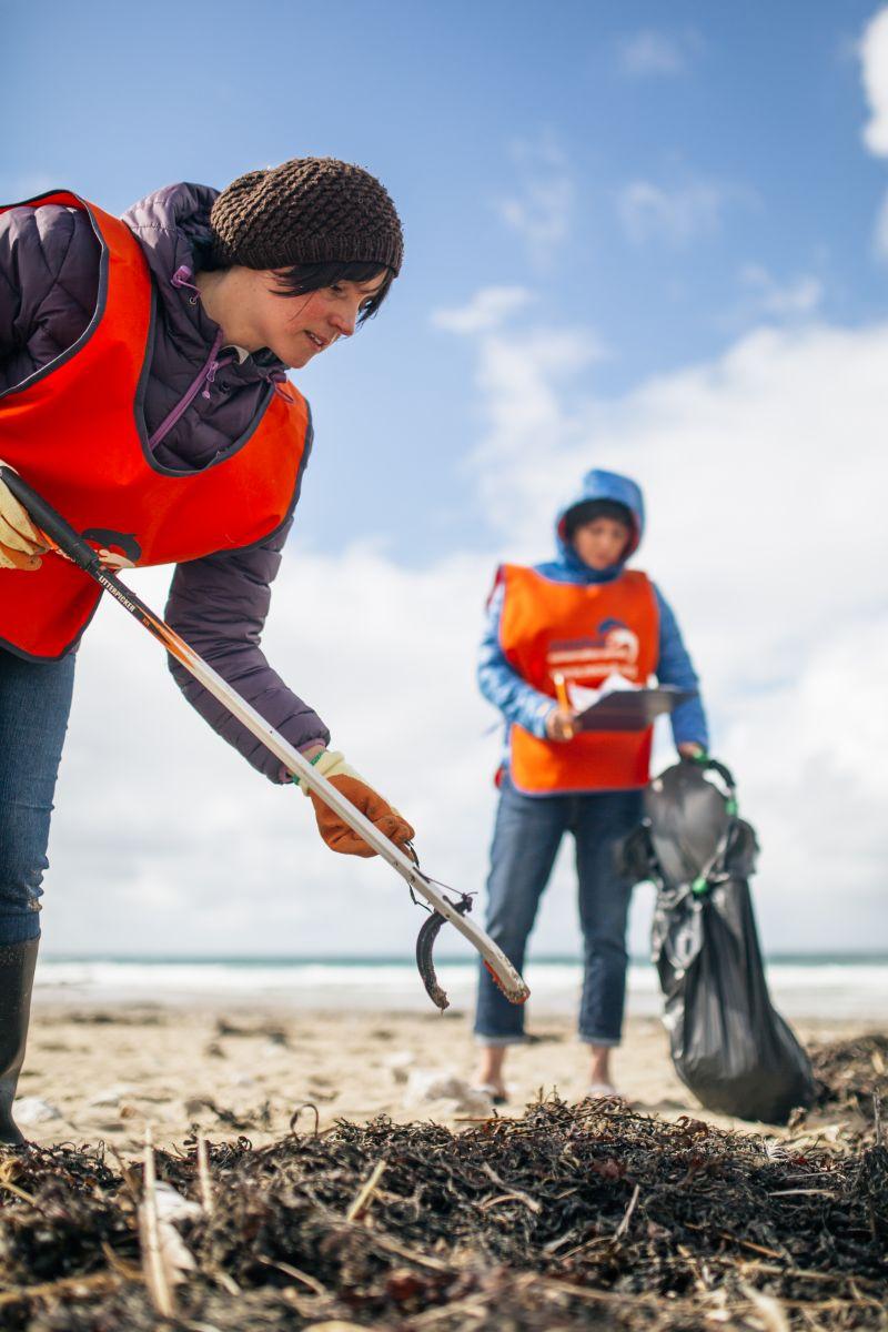 Porthtowan beach clean-Marine Conservation Society