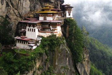 best green travel destinations 2017 Bhutan