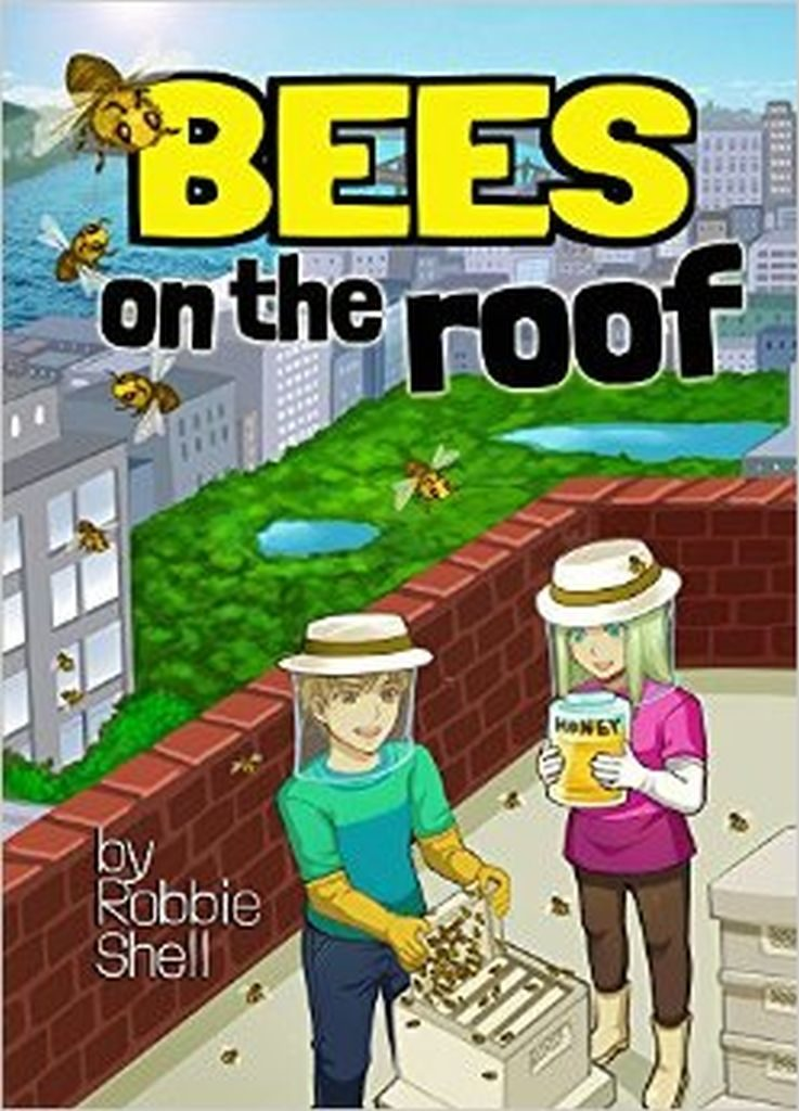 Book Cover: Bees on the Roof