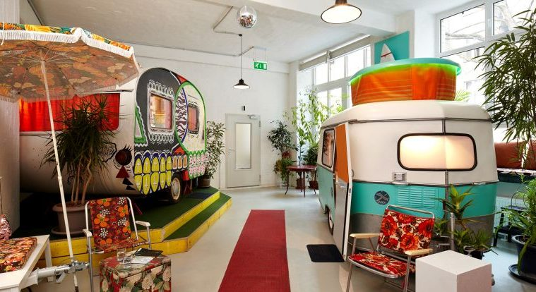 glamping in h ttenpalast factory restyled as quirky