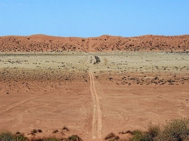 Simpson Desert - Big Red Dune Australian ouback