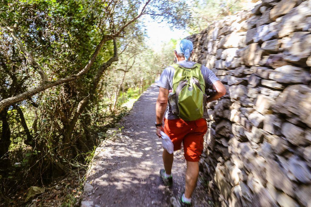 Hikers in Cinque Terre