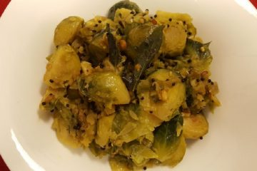 brussels sprouts recipe poriyal final
