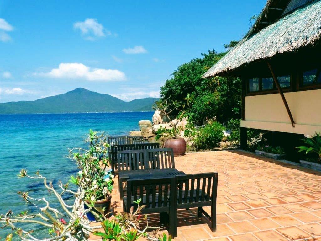 Palm island Vietnam