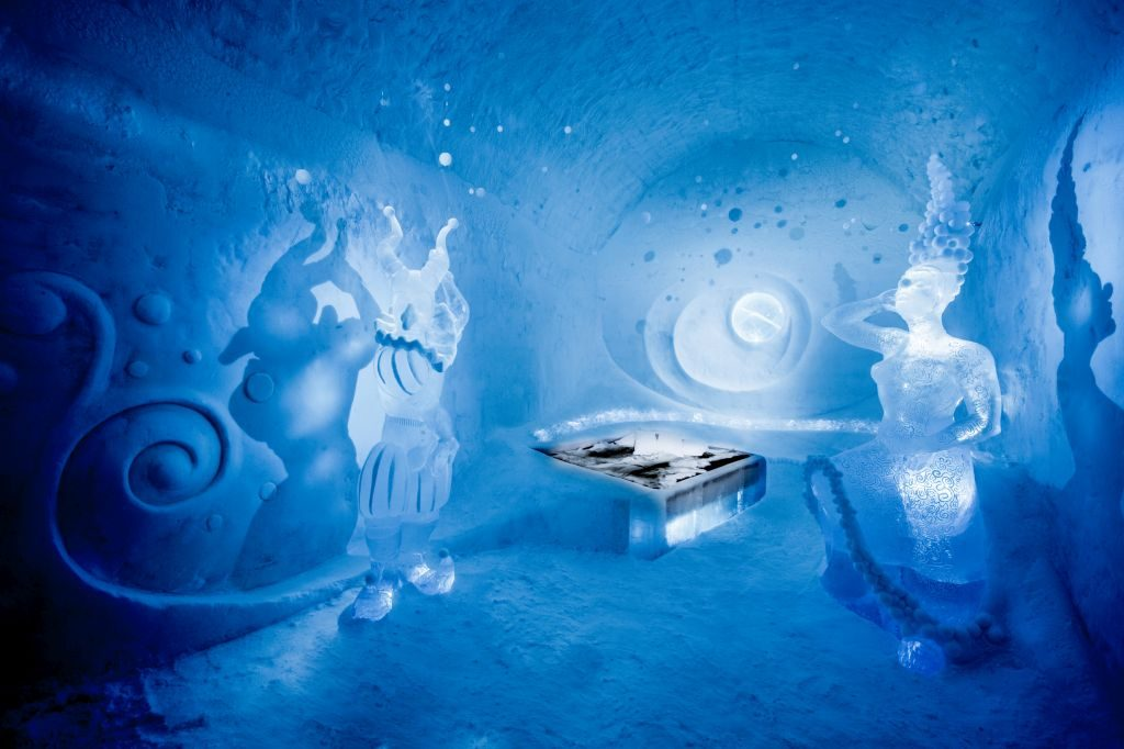icehotel 365 art suite