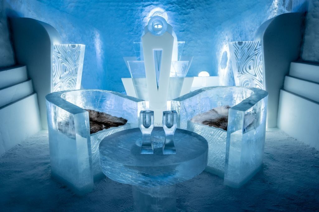 icehotel 365 once upon a time suite