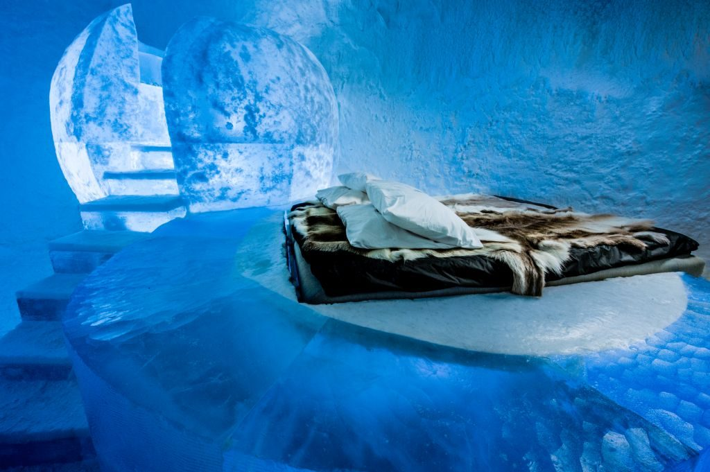 Icehotel 365 Wishful Thinking suite