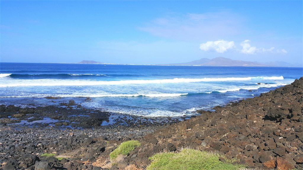 island of los lobos ocean