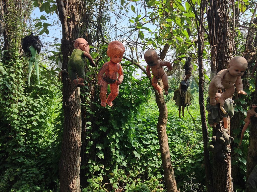 mexico island of the dolls