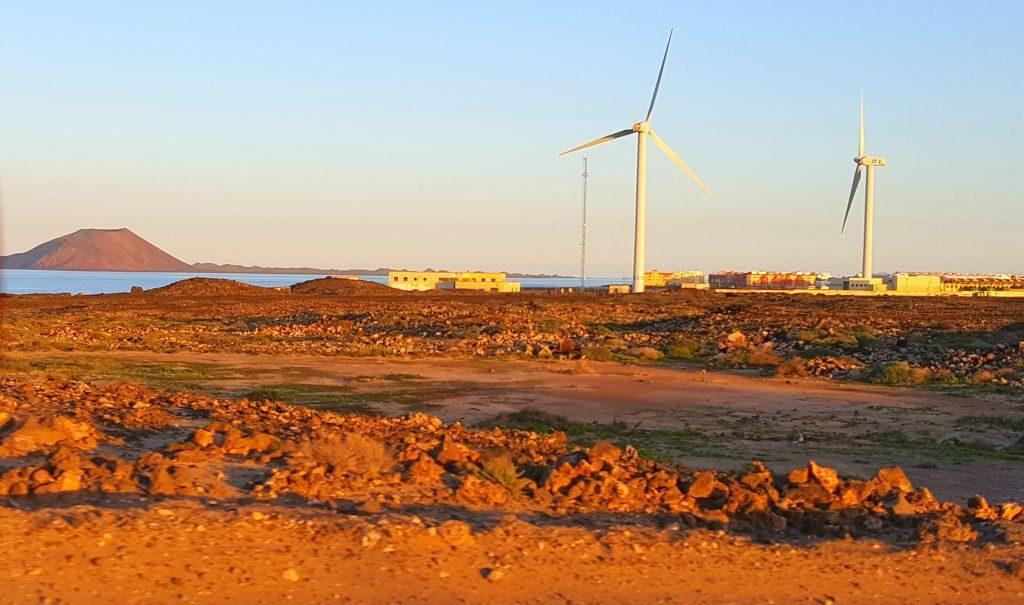 Spain Fuerteventura wind mills