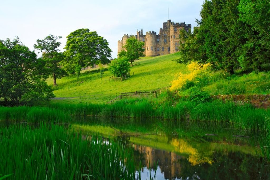 Alnwick castle UK
