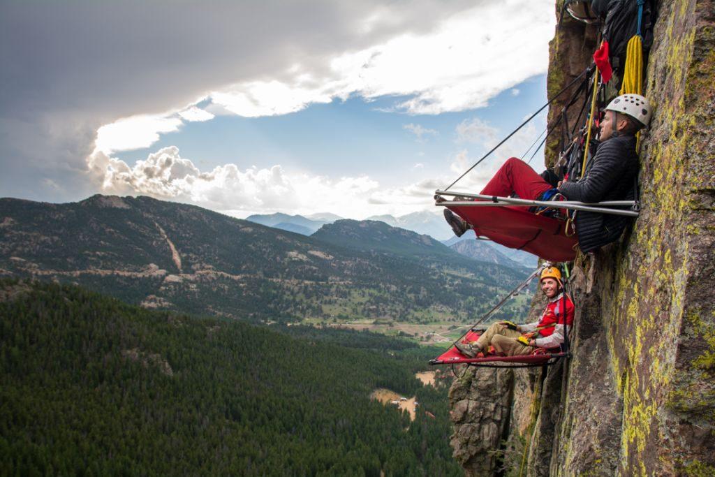 Estes Park cliff camping