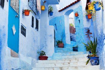 morocco blue