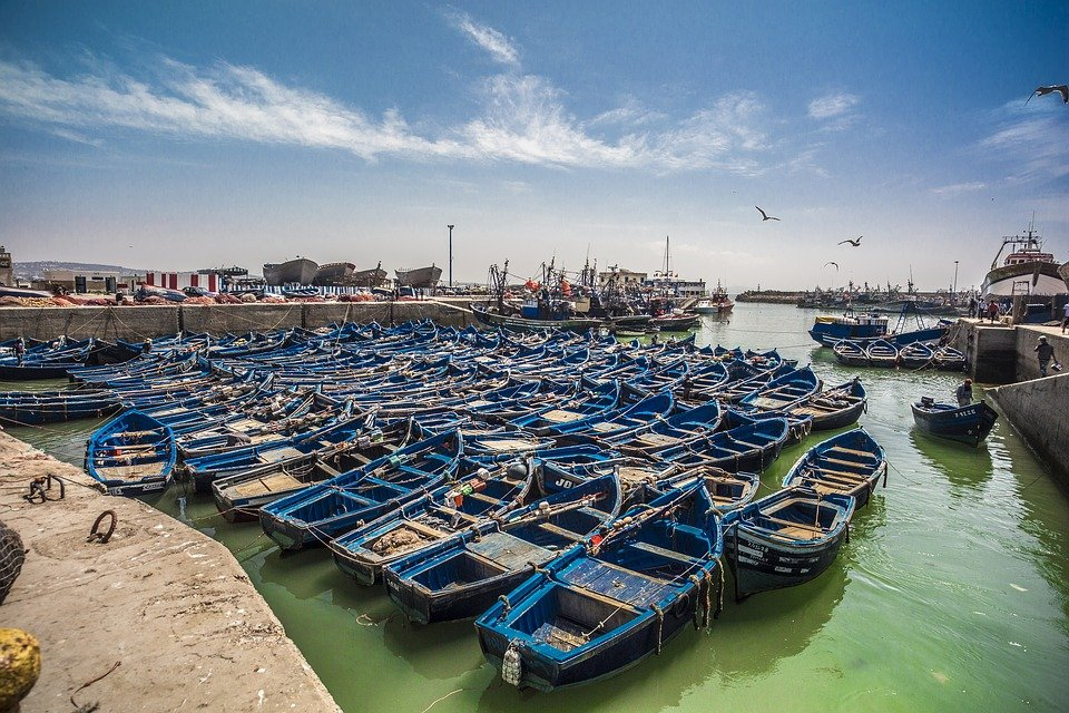 morocco boat