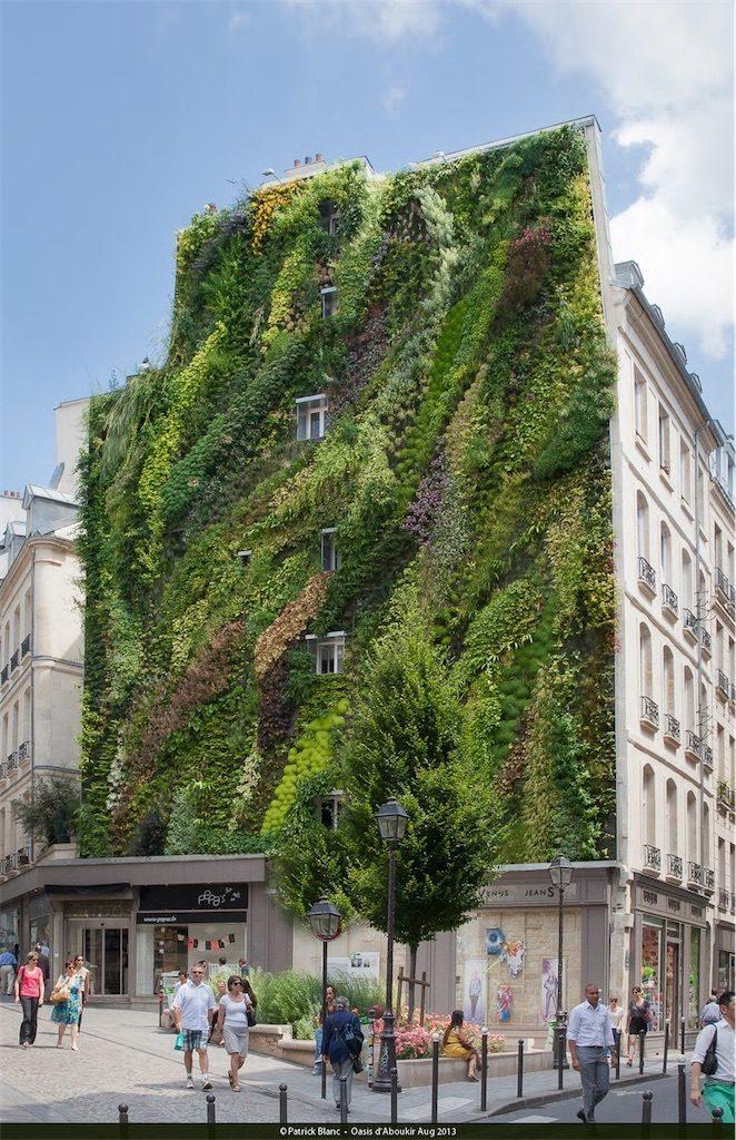 L'Oasis D'Aboukir in Paris, France. Built in 2013.