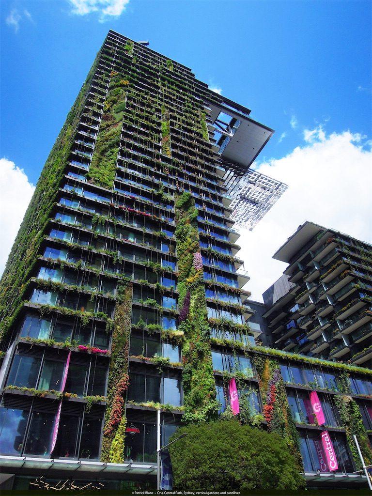 One Central Park in Sydney, Australia. Built in 2013.