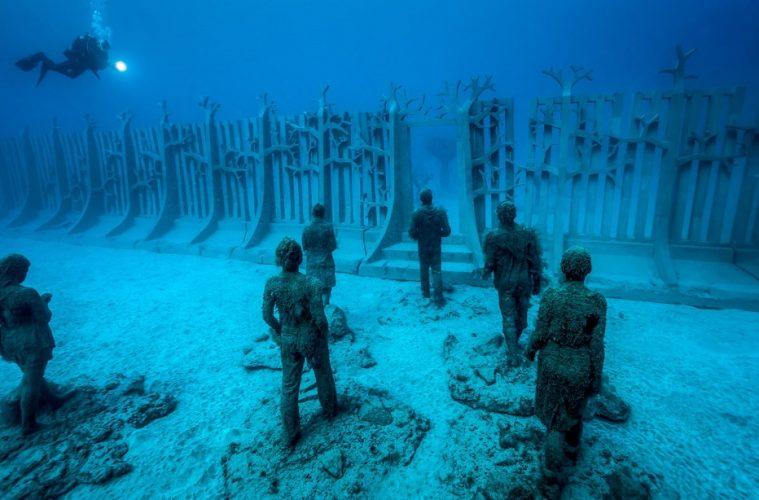 First Underwater Museum in Europe in dazzling photos