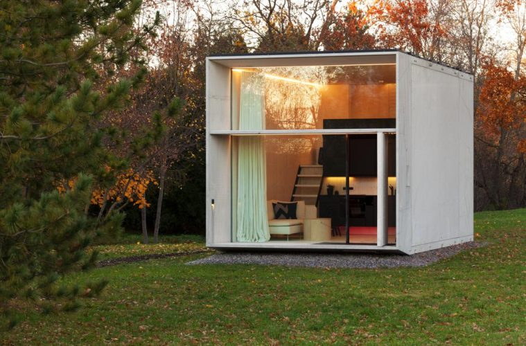 This eco friendly tiny house is designed to move with you for Small sustainable homes
