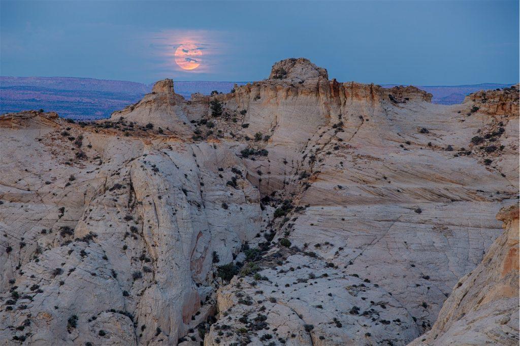 Grand Staircase-Escalante moon