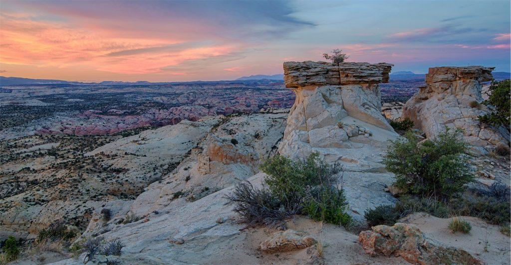 Grand Staircase-Escalante sunset