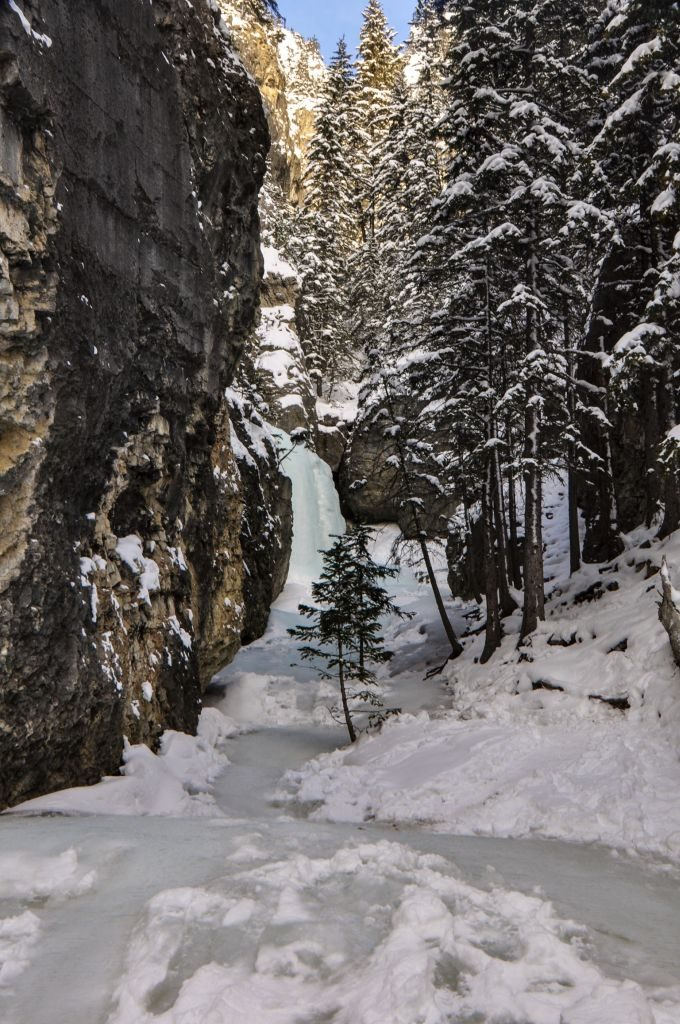 Johnston Canyon's Cave