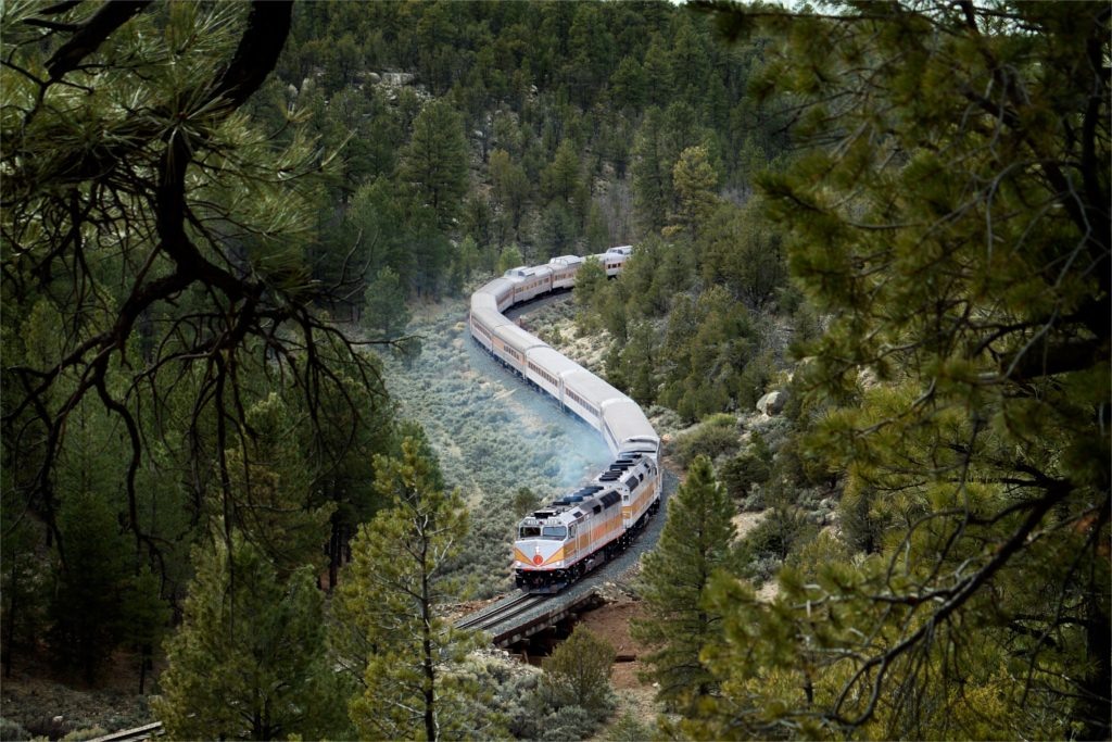 Grand Canyon Railway North America