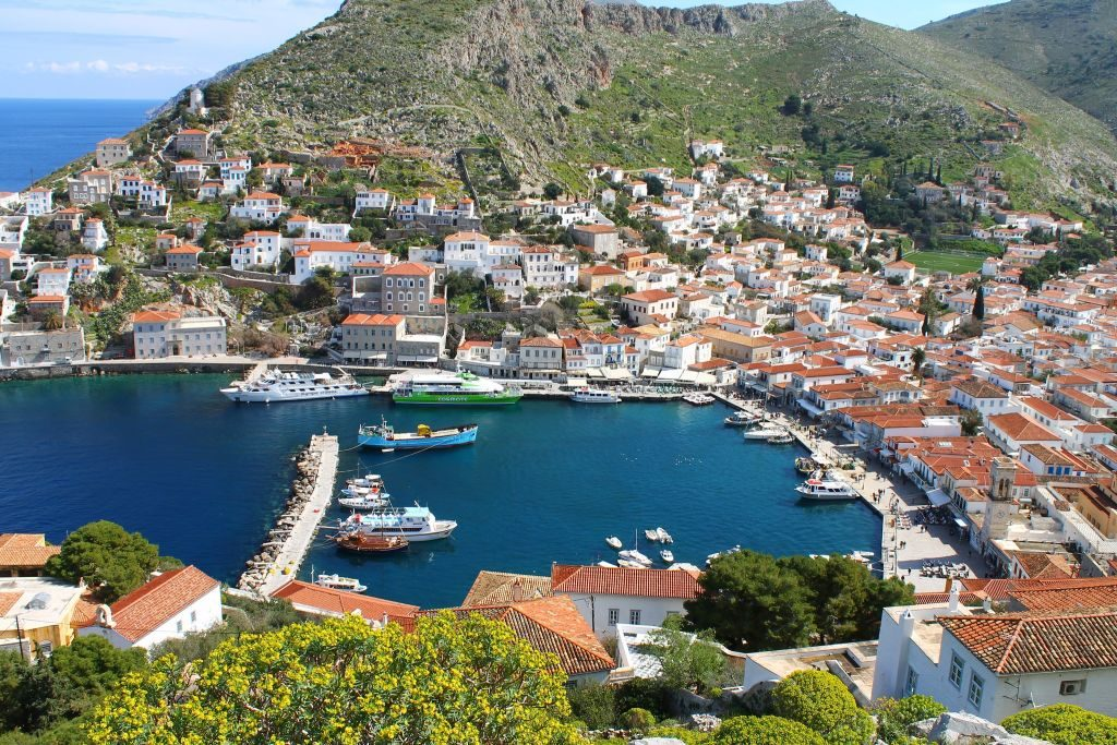 best car-free destinations hydra greece