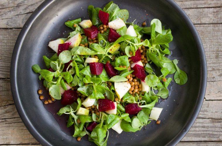 vegan salad healthy heart