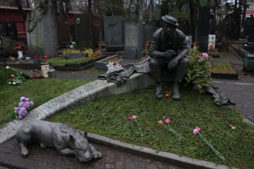 Novodevichy Cemetery Russia