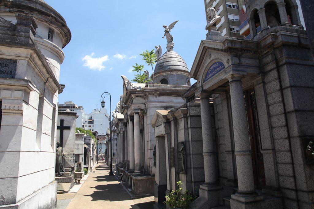 La Recoleta Cemetery Argentina cemeteries