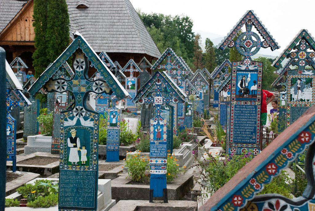 Merry Cemetery, Sapanta, Romania cemeteries