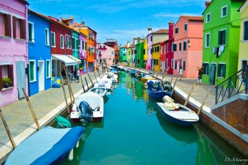 Burano Italy most colorful cities around the world