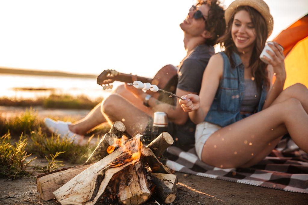most romantic camping destinations