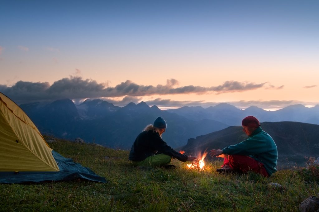 most romantic camping destinations