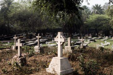 India cemeteries
