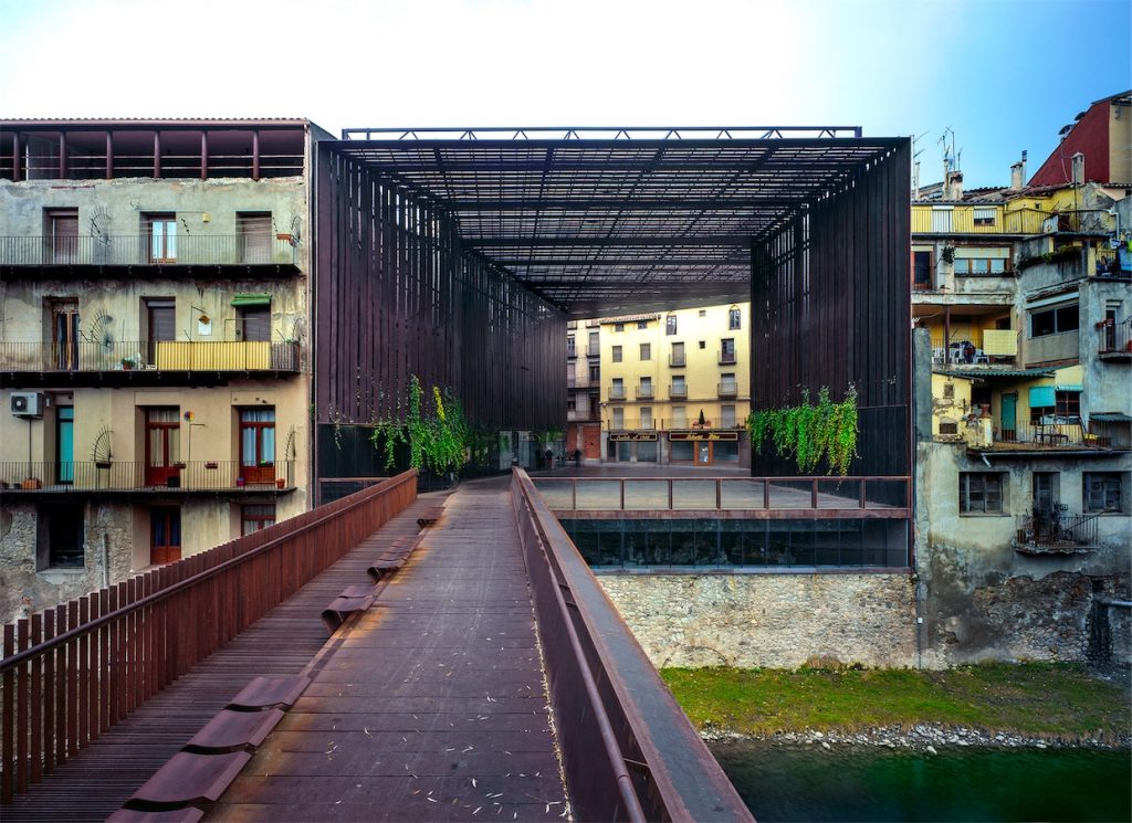 La Lira Theater Public Open Space 2011 Ripoll, Girona, Spain