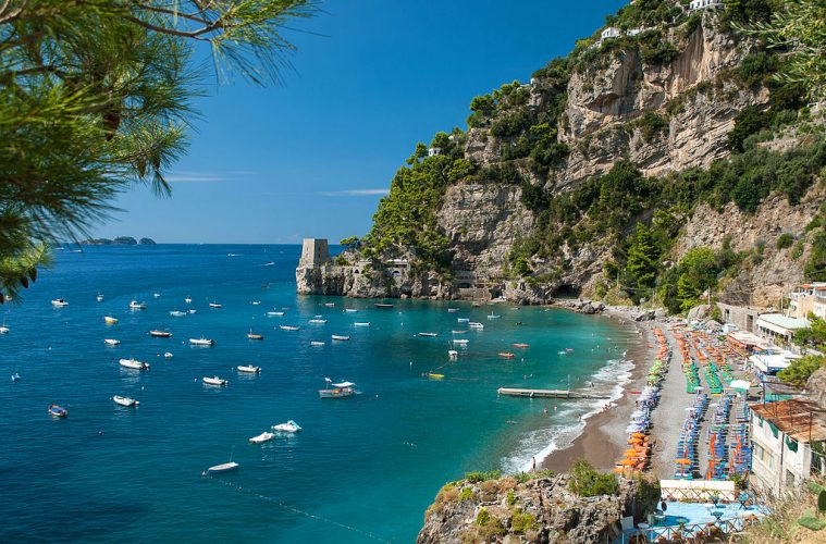 Positano, Italy best beach vacation