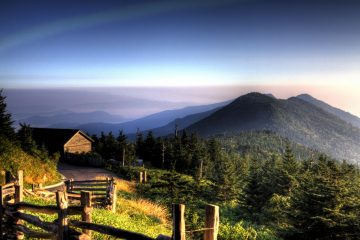 blue ridge parkway, best national parks for spring